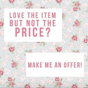 Other - ✨💕 MAKE ME AN OFFER!